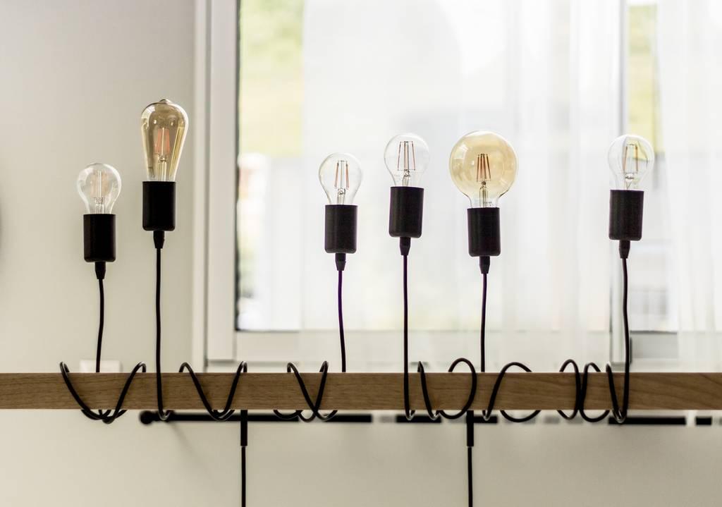 Lampjes aan draad