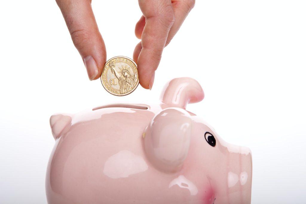 Sparen of reserveren - spaarpot