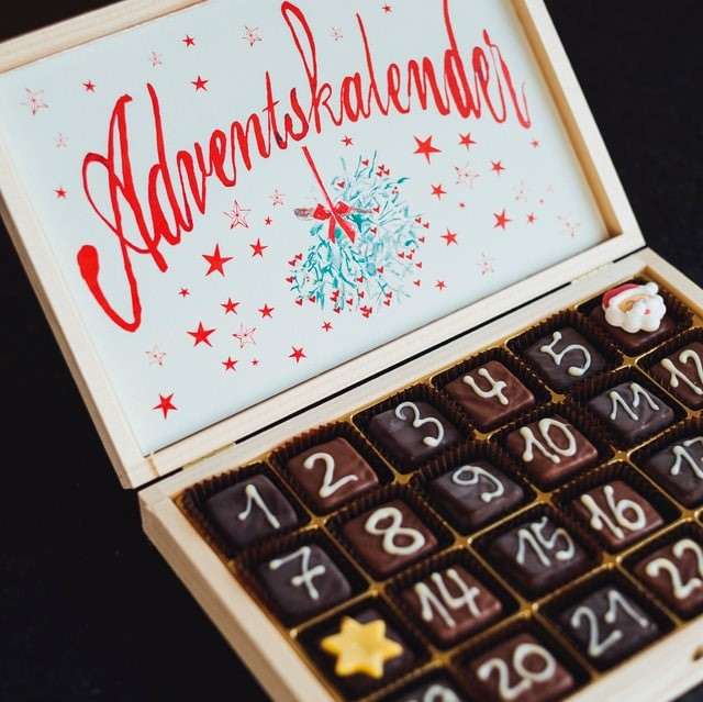 Adventskalender voor kerst