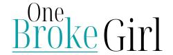 One Broke Girl logo