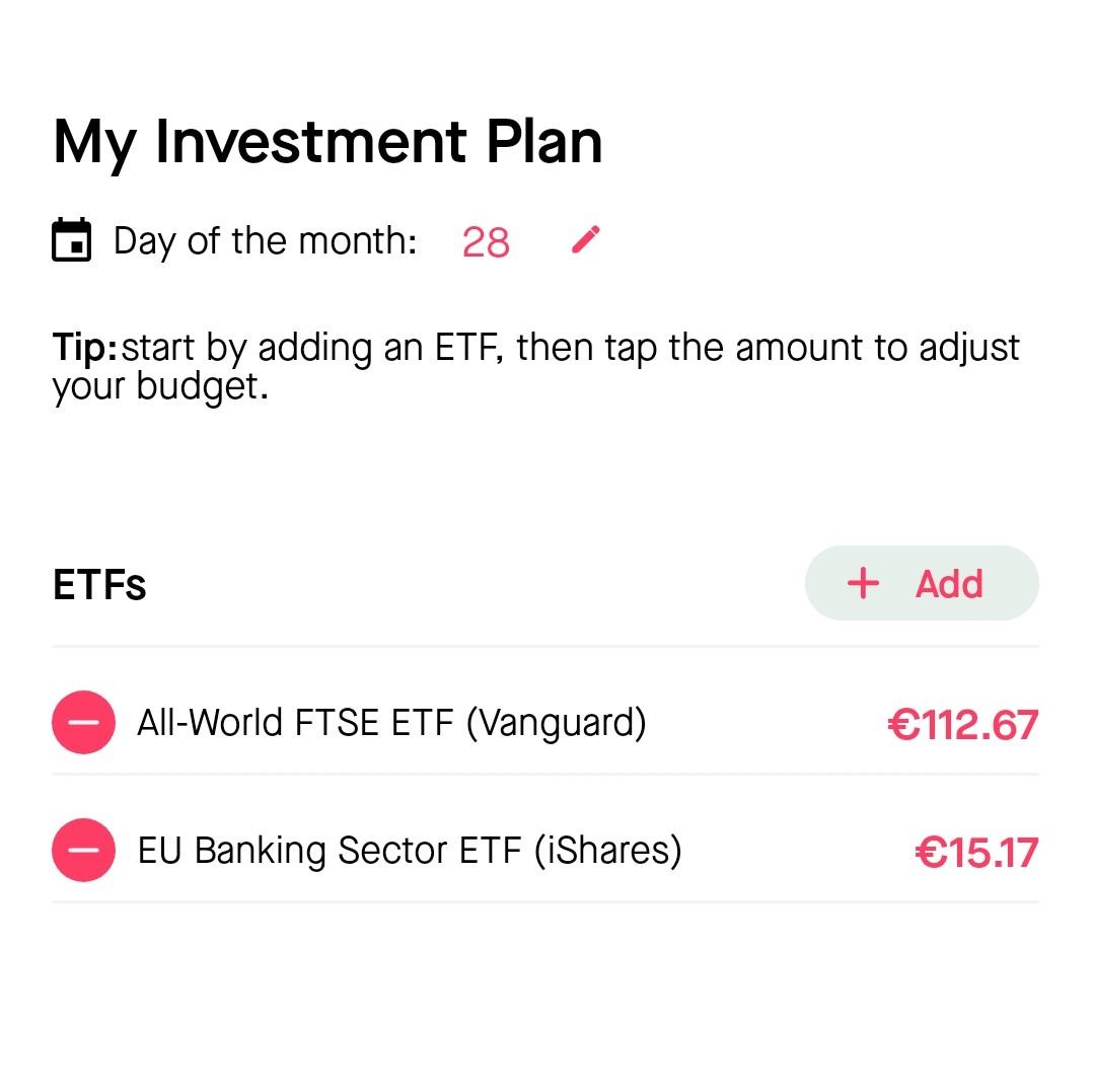 BUX Zero beleggingsplan